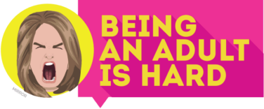 Being an Adult is Hard logo