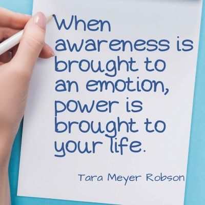 Life is hard quote - When awareness is brought to an emotion, power is brought to your life.