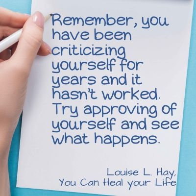 Life is hard quote - Remember, you have been criticizing yourself for years and it hasn't worked. Try approving of yourself and see what happens.